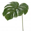 Philidendron leaf, 2 leaves, L46cm, green